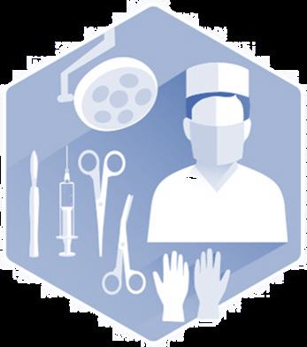 Surgery Icon (Blue)