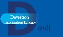 Deviation Information Library (DEVIL) color logo
