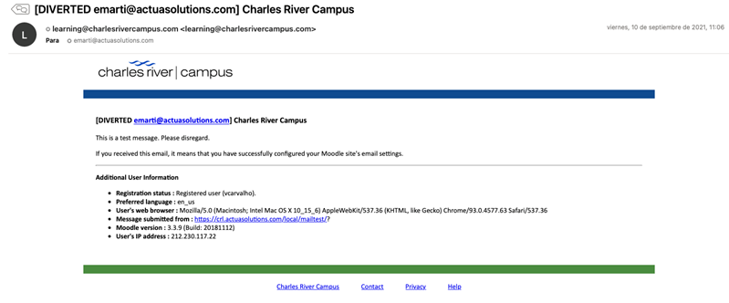 Campus Message and Notification Theme
